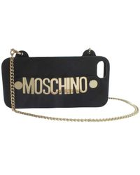 Moschino | Black Iphone Crossbody | Lyst