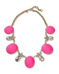 Banana Republic - Pink Starlet Necklace - Lyst