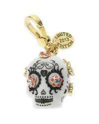 Juicy Couture | Metallic Goldtone Day Of The Dead Charm | Lyst