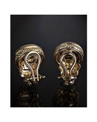 Judith Ripka - Metallic Honey Citrine and Diamond Shrimp Earrings - Lyst