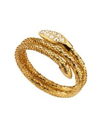 Guess | Metallic Glamazon Serpent Bracelet | Lyst