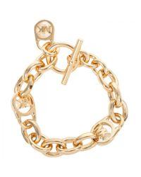 Michael Kors | Metallic Charm Bracelet | Lyst