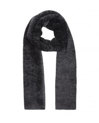 AllSaints - Gray Tove Scarf for Men - Lyst