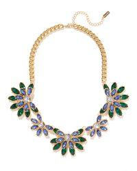 BaubleBar - Blue Emerald Wisteria Collar - Lyst
