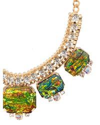 BaubleBar - Green Fire Opal Collar - Lyst