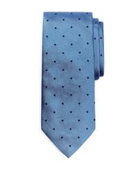 Brooks Brothers   Blue Dot Rep Tie for Men   Lyst