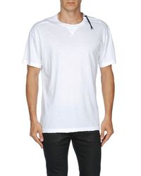 DIESEL - White ED-T-WANJALA Short Sleeves for Men - Lyst