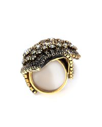Erickson Beamon - Metallic Hello Sweetie Ring - Lyst