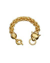 Guess | Metallic Glamazon Cougar Bracelet | Lyst