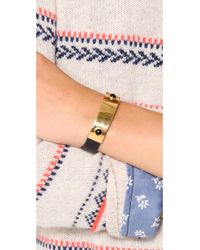 Lizzie Fortunato | Black The Darby Bracelet | Lyst