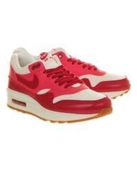 Nike - Red Air Max 1 L - Lyst