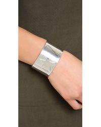 Noir Jewelry - Metallic Star Cuff Bracelet - Lyst
