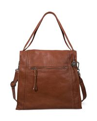 The Sak - Brown Miranda Leather Tote Bag - Lyst
