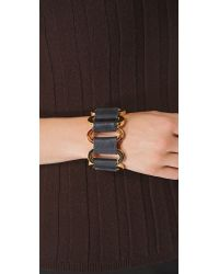 CC SKYE - Black Gatekeeper Bracelet - Lyst