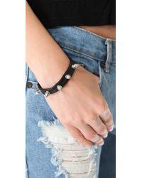 Chan Luu | Black Spike Bracelet | Lyst