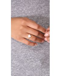 Ginette NY - Metallic Mother Of Pearl Ring - Lyst