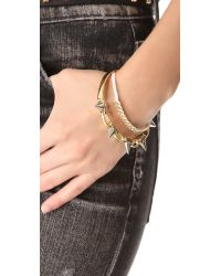Joomi Lim - Metallic Spike Bangle Bracelet - Lyst
