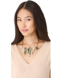 Kelly Wearstler - Natural Facet Statement Necklace - Lyst