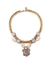 Lulu Frost - Black Travel Necklace - Lyst