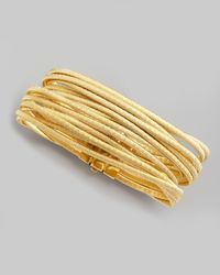 Marco Bicego - Metallic Cairo 18k Thirteenstrand Bracelet for Men - Lyst