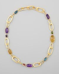 Marco Bicego | Metallic Murano 18k Mixed-stone Link Necklace | Lyst