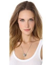 Pamela Love - Metallic Aeternum Pendant Necklace - Lyst