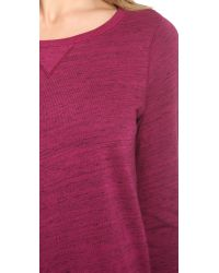 Splendid | Purple Space-dyed Pullover | Lyst