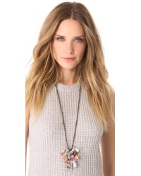 Venessa Arizaga - Multicolor Cheers Necklace - Lyst
