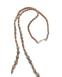 Chan Luu - Blue Beaded Turquoise Necklace - Lyst