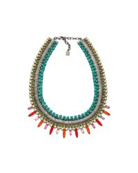 DANNIJO - Metallic Kiera Necklace - Lyst
