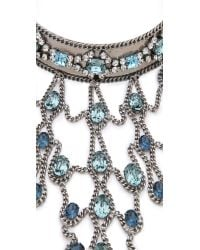 DANNIJO - Metallic Basel Necklace - Lyst