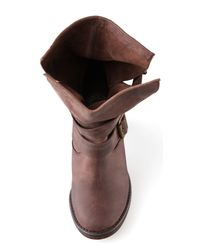Jeffrey Campbell | Brown France Wrap Strap Boots | Lyst
