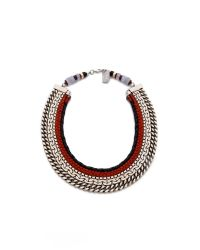 Lizzie Fortunato - Metallic The Oxford Necklace - Lyst