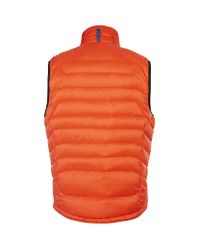 Polo Ralph Lauren - Orange Explorer Down Vest for Men - Lyst