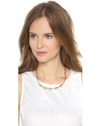 Rodarte - Metallic Barbed Wire Choker - Lyst