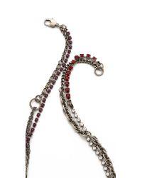Tom Binns - Metallic Calamity Charm Chain Necklace - Lyst