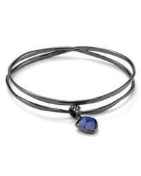 Alexis Bittar | Black Hyperion Dangling Lapis Charm Bangle | Lyst