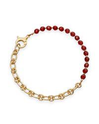 Astley Clarke | Metallic Carnelian Charm Bracelet | Lyst
