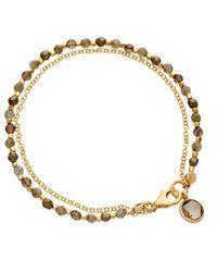 Astley Clarke | Yellow Labradorite Charm Friendship Bracelet | Lyst