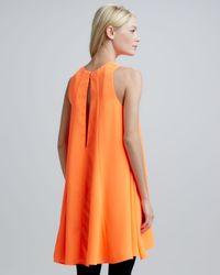 Cameo - Orange Lifesize Sleeveless Tent Dress - Lyst