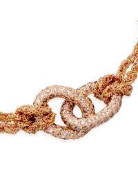 Carolina Bucci - Metallic Diamond Link Lucky Bracelet - Lyst