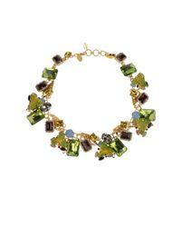 Erickson Beamon - Metallic Necklace - Lyst
