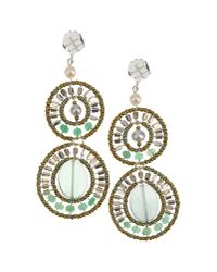 First People First | Green Earrings | Lyst
