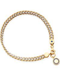 Astley Clarke | Gray Thundercloud Cosmos Friendship Bracelet | Lyst