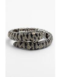 Tasha | Metallic Critter Coil Bracelet | Lyst