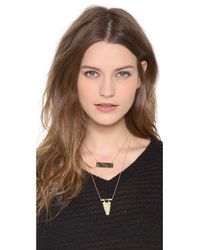 Heather Hawkins - Gray Float Necklace - Lyst