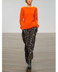 Zoe Jordan - Black Printed Rinaldi Trousers By Zoeuml Jordan - Lyst