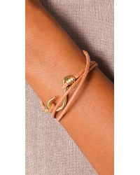 Giles & Brother | Metallic Hook Wrap Bracelet | Lyst