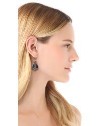 Alexis Bittar - Metallic Suspended Hematite Drop Earrings - Lyst