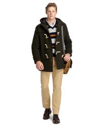 Brooks Brothers | Green Toggle Coat for Men | Lyst